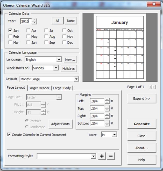 Membuat desain kalender pribadi anda sendiri | Energy Visual