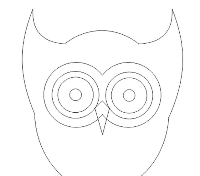 Membuat Karakter Sederhana Burung Hantu Energy Visual